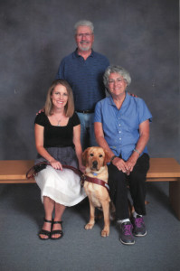 Roja's puppy raisers, Jack and Linda, have raised 38 puppies and gave me the gift of Roja.